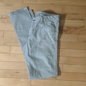 Banana Republic Light Gray Jeans